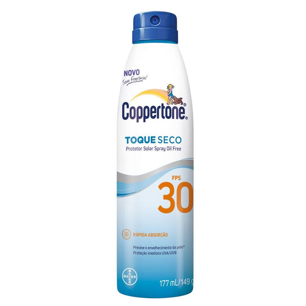 Berühmt Coppertone Toque Seco Spray Fps 30 Bayer - Protetor Solar - UnicPharma #SW_51