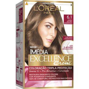 Coloracao-Imedia-Excellence-6.1-Louro-Escuro-Acinzentado