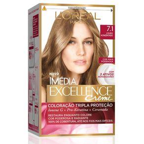 Coloracao-Imedia-Excellence-7.1-Louro-Acinzentado
