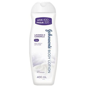 Locao-Hidratante-Johnson-s-Body-Lotion-Lavanda-Leve-400-Pague-320ml
