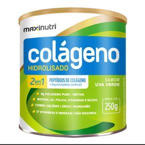 Colageno-Hidrolisado-2em1-Uva-Verde-250g-Maxinutri