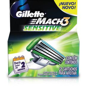 Carga-Gillette-Mach-3-Sensitive-2-Unidades