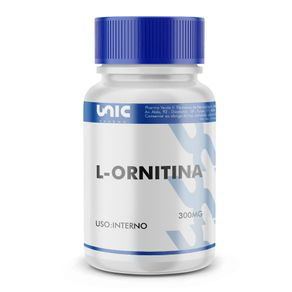 L-ornitina-300mg-30-caps
