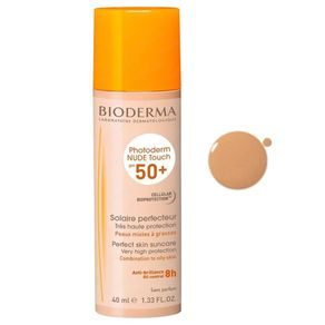 Protetor-Solar-Bioderma-Photoderm-Nude-Touch-FPS50-Dourado-40ml